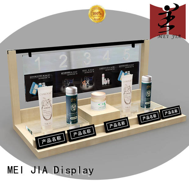 MEI JIA Display customized cosmetics acrylic display for sale for shop