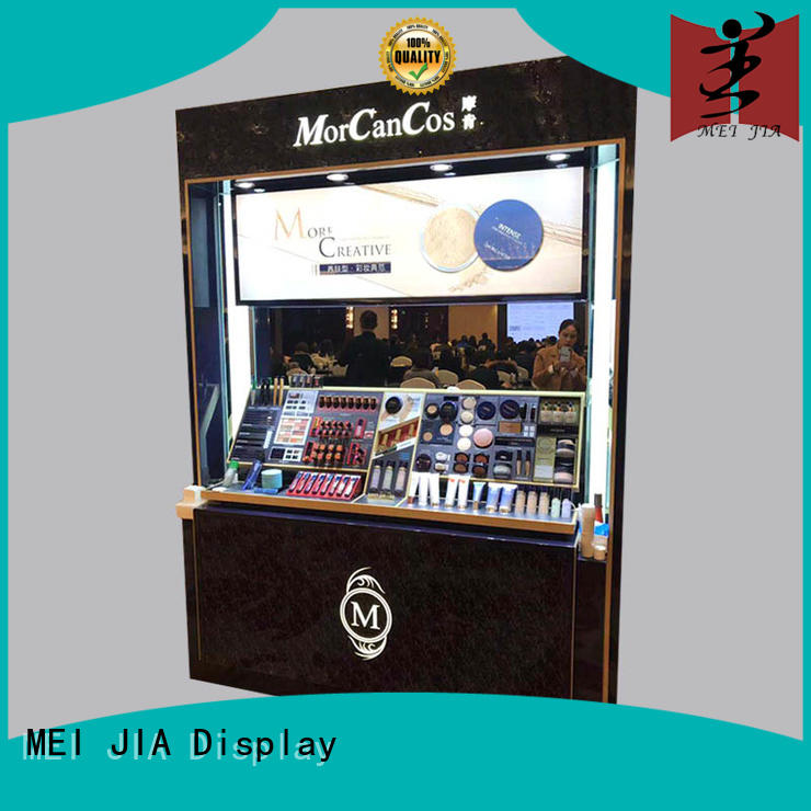 cosmetics cosmetic display cabinet for brand for shoppe MEI JIA Display