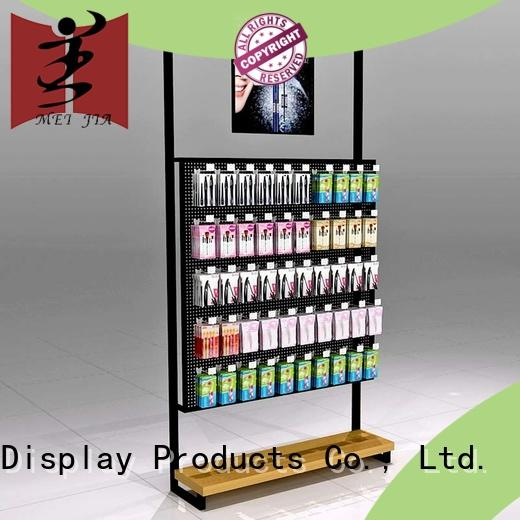 High-quality retail makeup display stand beauty supply for counter