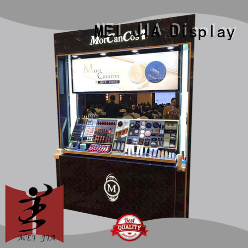 MEI JIA Display customized acrylic makeup display for brand for counter