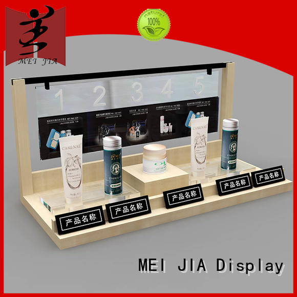 MEI JIA Display counter acrylic makeup holder manufacturers for shoppe