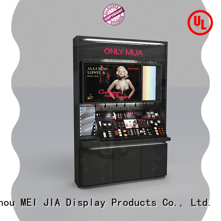 MEI JIA Display Latest cosmetic showcase for business for counter