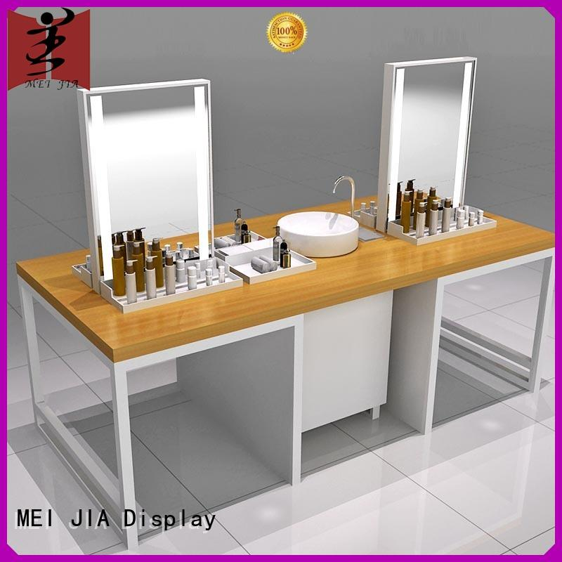 MEI JIA Display cosmetics custom acrylic display stands for brand for counter