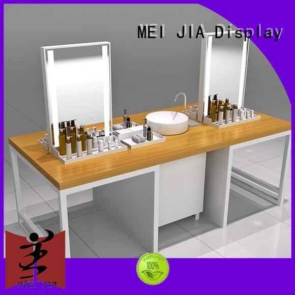 MEI JIA Display Top cosmetic showcase suppliers for counter