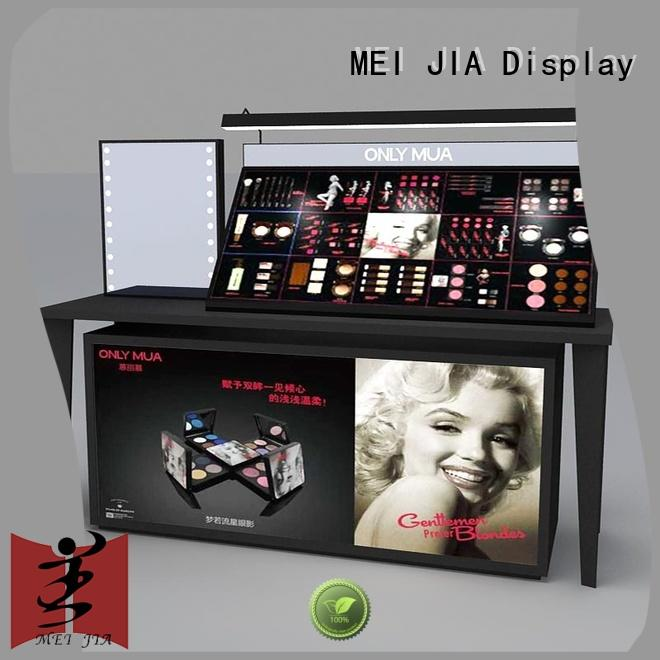 MEI JIA Display fashional makeup store display try for counter