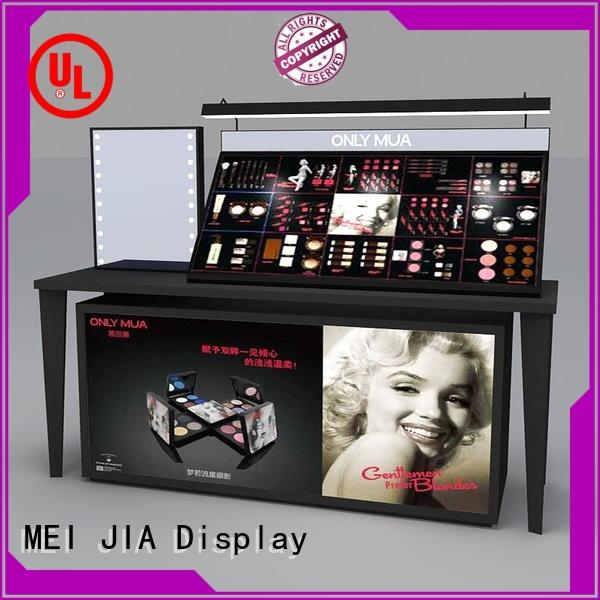 MEI JIA Display Wholesale makeup display stand suppliers for shoppe