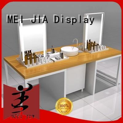 MEI JIA Display makeup beauty display units cabinet for shop