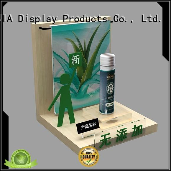 MEI JIA Display backside makeup retail display factory for counter