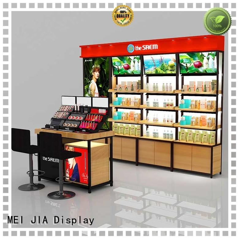 MEI JIA Display High-quality acrylic cosmetic display stand factory for showroom