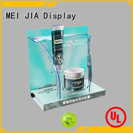 MEI JIA Display Custom beauty display stands company for counter