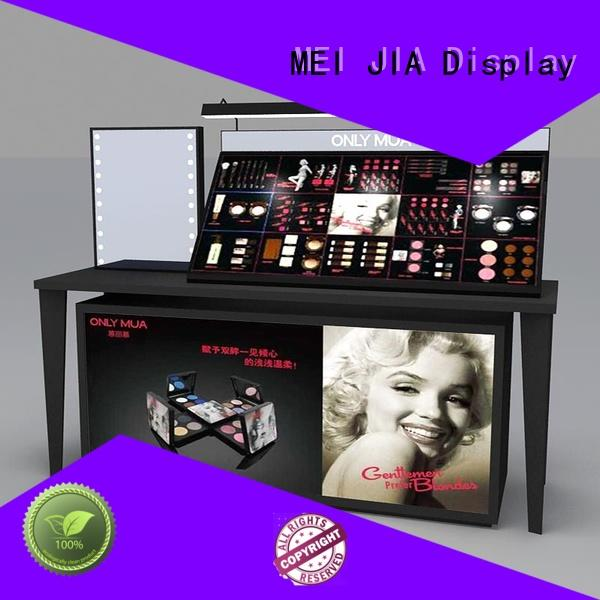 MEI JIA Display acrylic acrylic makeup display for business for shop