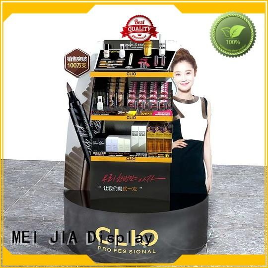 MEI JIA Display Wholesale makeup display cabinet factory for store