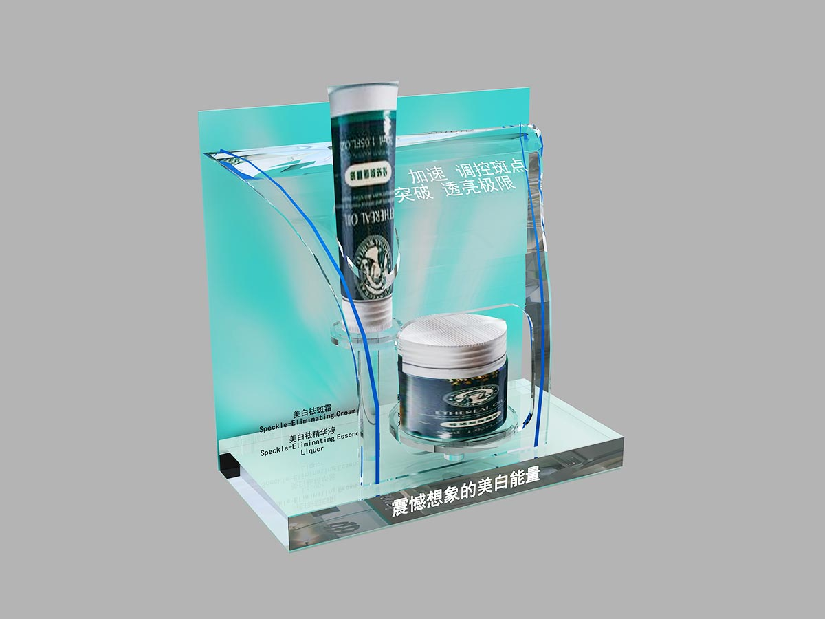 MEI JIA Display Custom cosmetics acrylic display supply for counter-1
