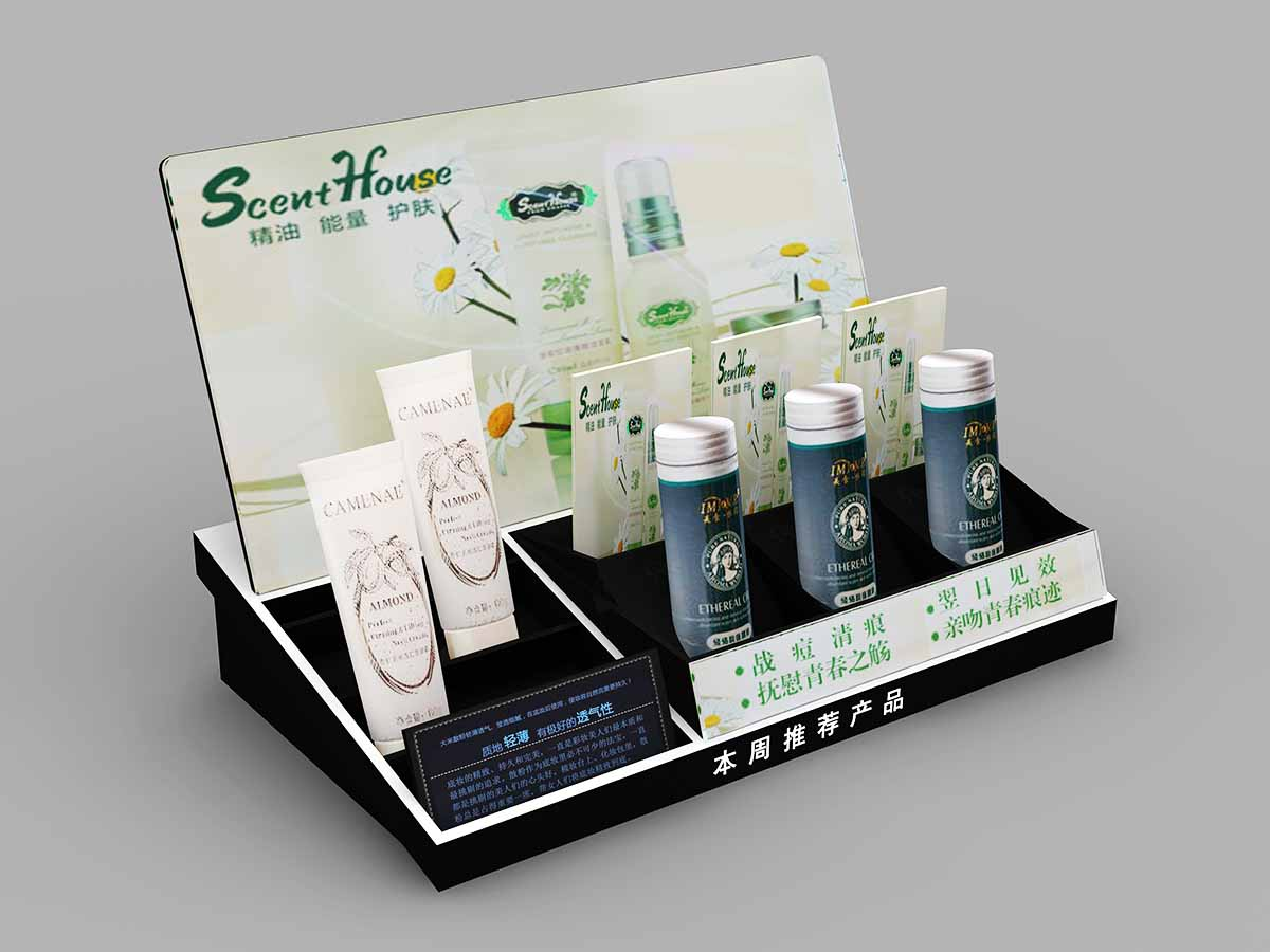 Customized Body Care Acrylic Display Stand-4