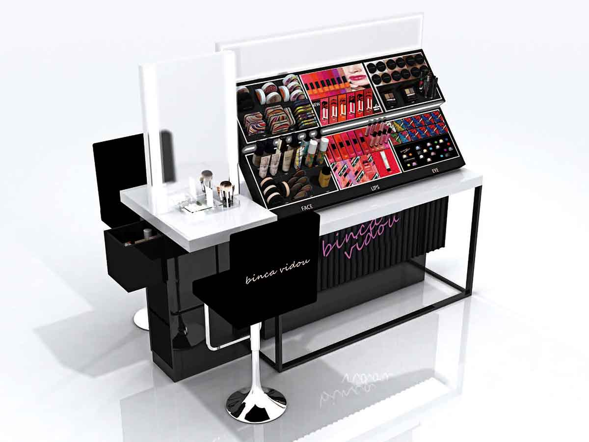 Retail Cosmetic Display Counter-4