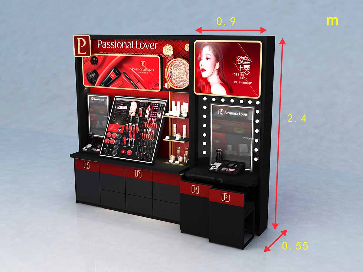 MEI JIA Display stand cosmetic display cabinet factory for exclusive shop-3