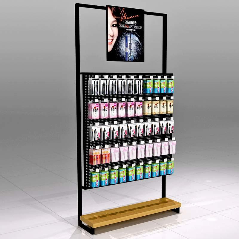 Cosmetics Display Shelves with Hook
