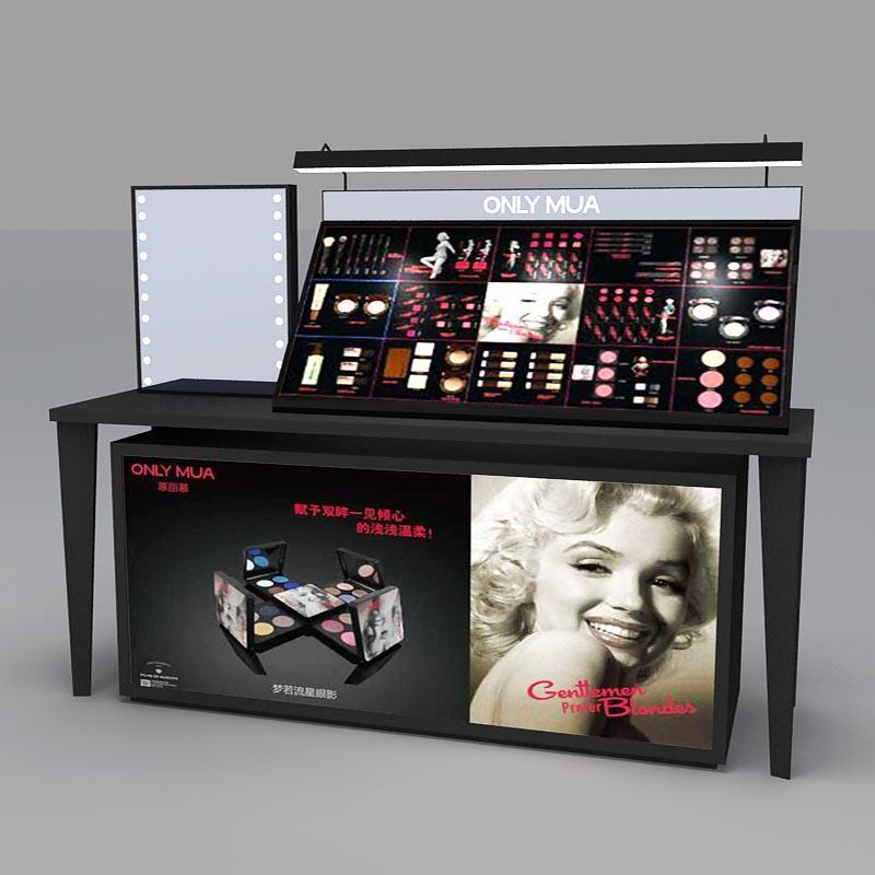 Makeup Brand Display Counter