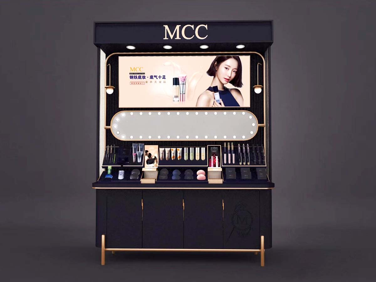 MEI JIA Display try acrylic makeup holder supply for showroom-2
