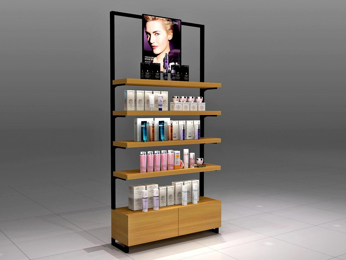 Custom cosmetic showcase try for business for exclusive shop
