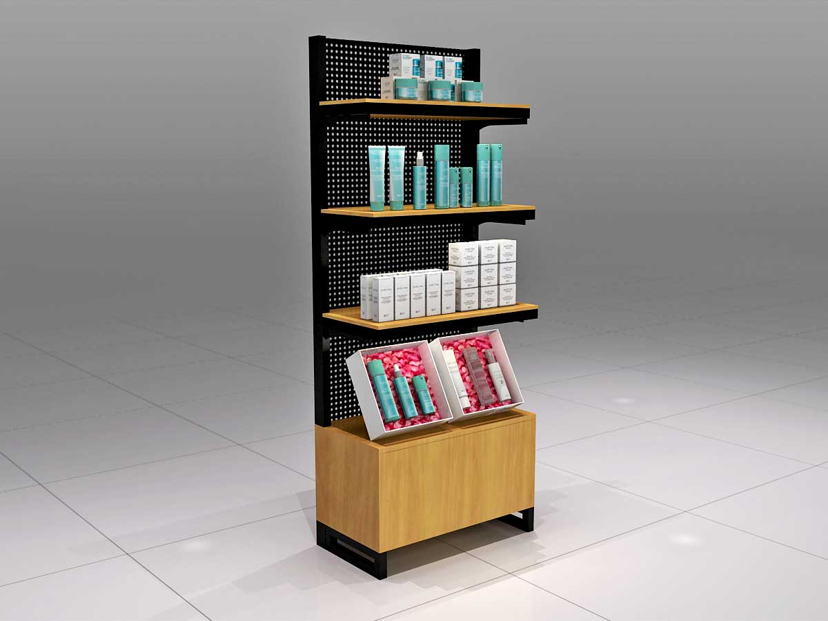 MEI JIA Display wood makeup display stand factory for store-3