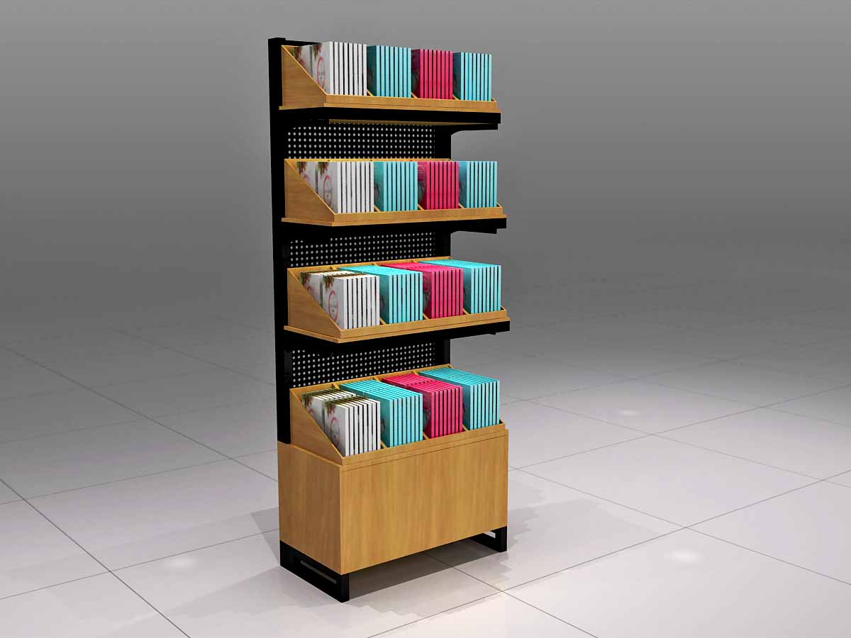 MEI JIA Display backside makeup display stand manufacturers for counter-4