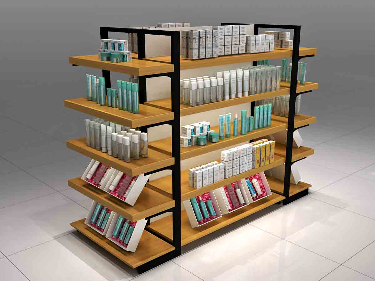 MEI JIA Display backside makeup display stand manufacturers for counter-1