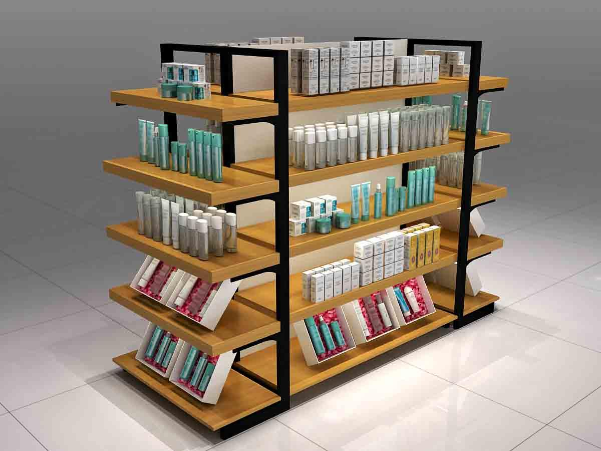 MEI JIA Display cosmetics cosmetic display counter cabinet for counter