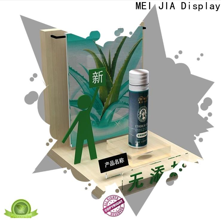 MEI JIA Display Latest beauty display stands suppliers for showroom
