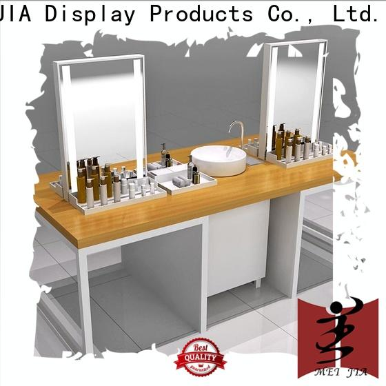 MEI JIA Display customized beauty display stands suppliers for shoppe