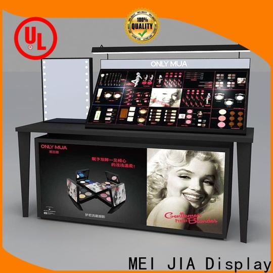 MEI JIA Display Best makeup display stand company for counter