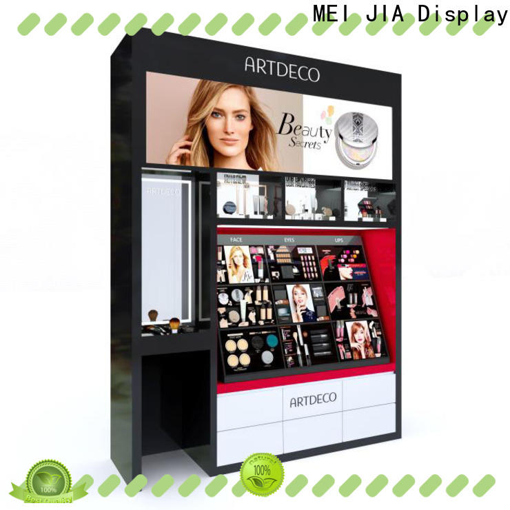 Best beauty display stands shelf factory for exclusive shop