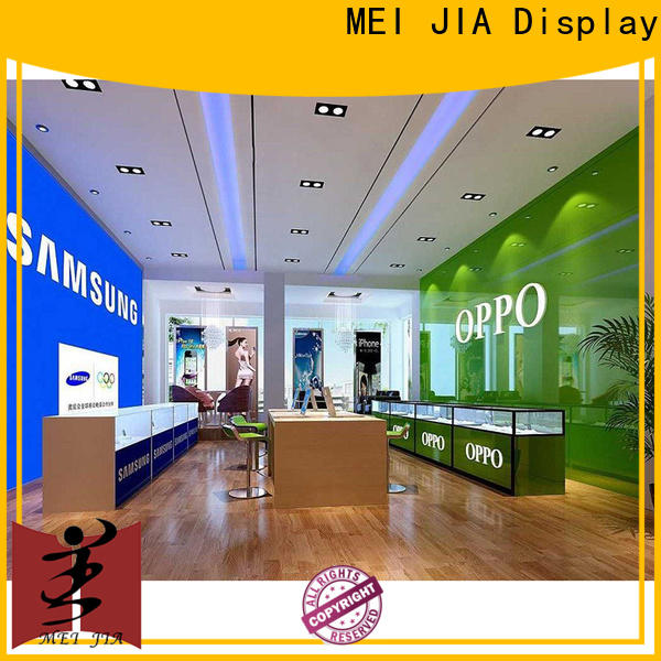 Top mobile phone counter desgin suppliers for showroom