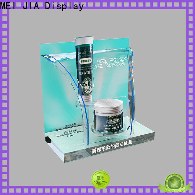 MEI JIA Display Custom acrylic makeup display supply for exclusive shop