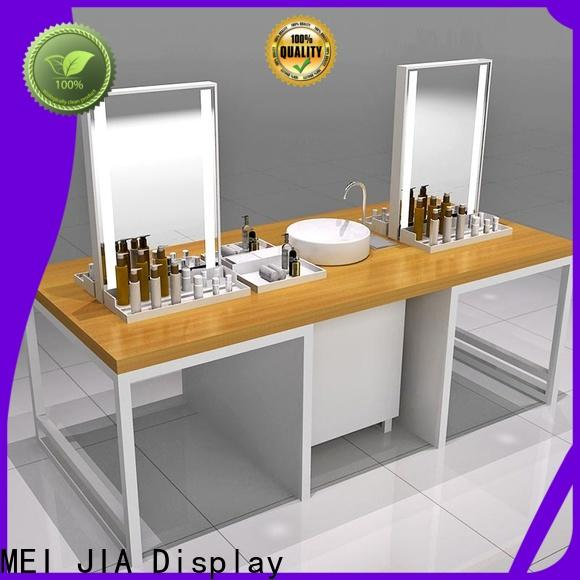 MEI JIA Display New cosmetic display cabinet supply for counter