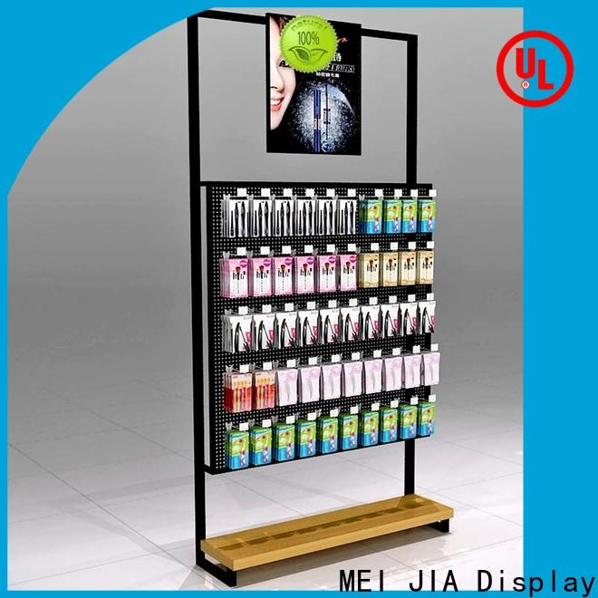 MEI JIA Display acrylic acrylic cosmetic display stand factory for showroom