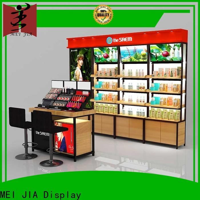 MEI JIA Display care acrylic cosmetic display stand for business for shoppe