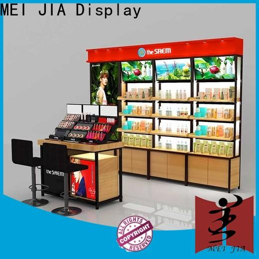 MEI JIA Display skin cosmetics acrylic display factory for counter