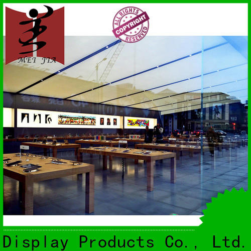 New mobile phone counter display factory for exclusive shop