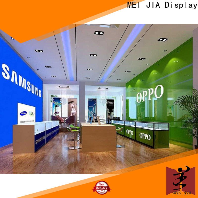 Latest cell phone display case counter company for showroom