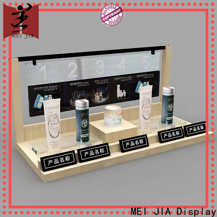 High-quality makeup display stand cosmetics supply for counter