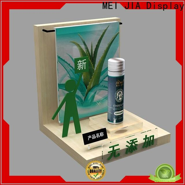 MEI JIA Display New makeup display stand factory for showroom