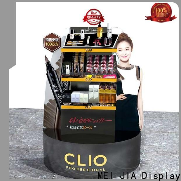 MEI JIA Display customized retail makeup display stand suppliers for shoppe