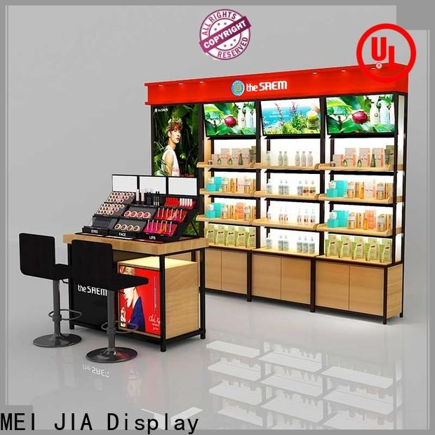 MEI JIA Display beauty makeup display stand supply for shoppe