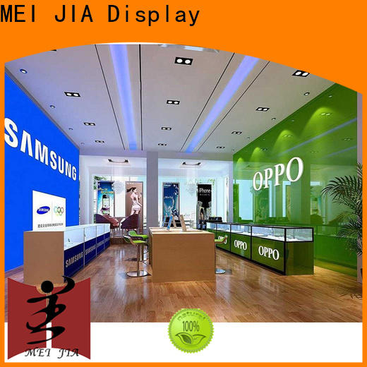 MEI JIA Display cellphone mobile display counter suppliers for exclusive shop