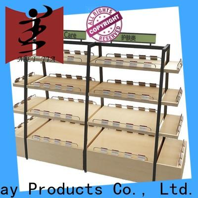 Latest product display shelf manufacturers for retail shop