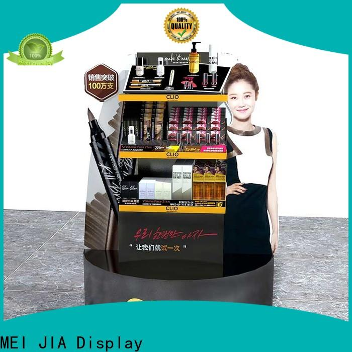 Latest acrylic cosmetic display stand wall company for exclusive shop