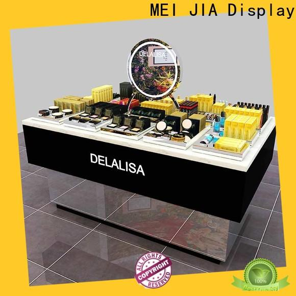 Best makeup retail display wall factory for shoppe