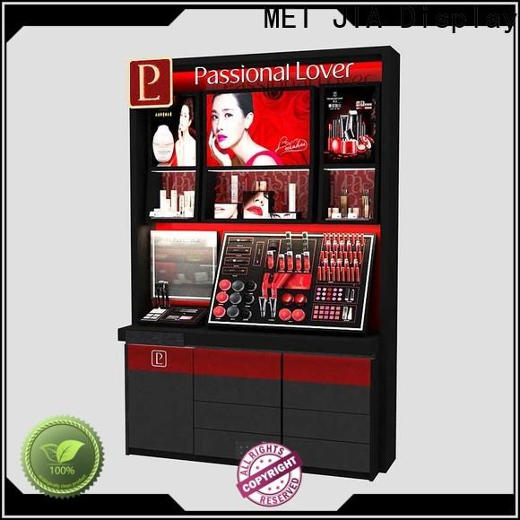 MEI JIA Display High-quality makeup display cabinet for business for showroom