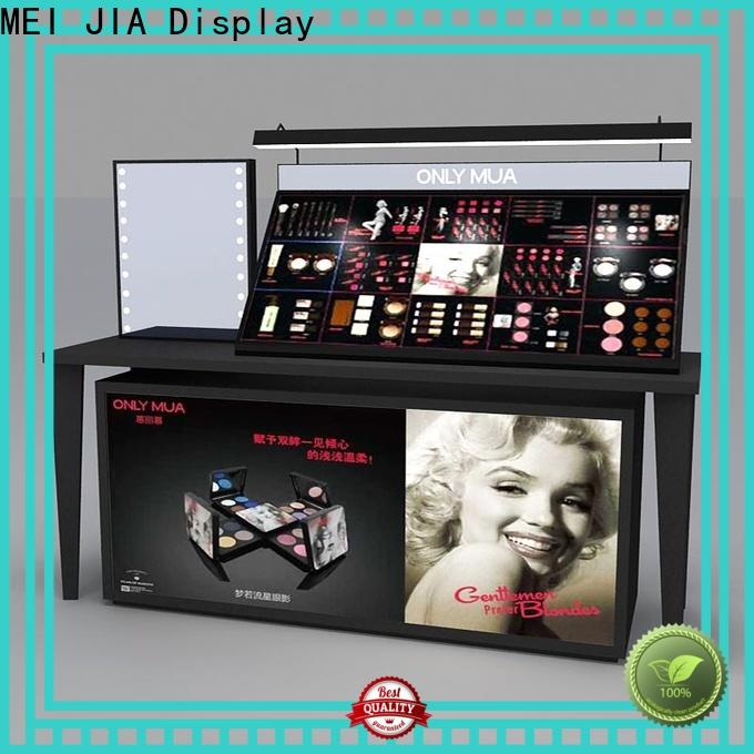 MEI JIA Display cosmetic acrylic makeup display manufacturers for exclusive shop